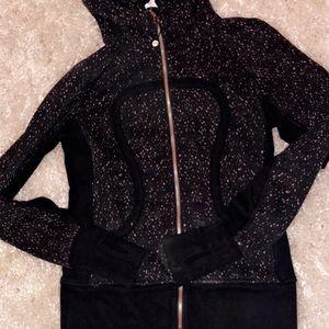Speckled lululemon scuba hoodie